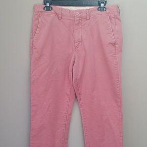 J. Crew Pants Urban Slim 31 x 32 Salmon Pink